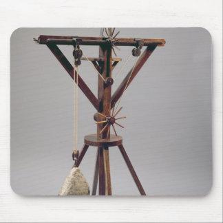 Reconstruction of da Vinci s design Mouse Pad