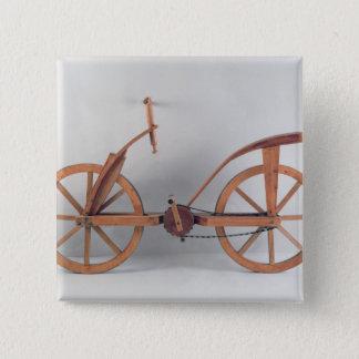 Reconstruction of da Vinci's design Pinback Button