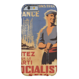 Reconstruction of France Propaganda Poster Barely There iPhone 6 Case