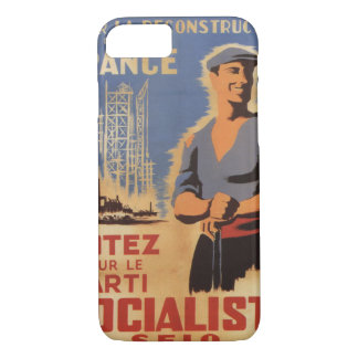 Reconstruction of France Propaganda Poster iPhone 7 Case
