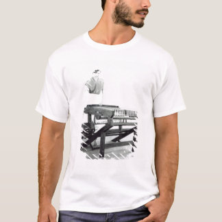 Reconstruction of Hargreaves's 'Spinning Jenny' T-Shirt