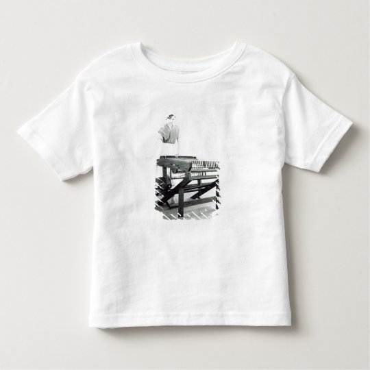 Reconstruction of Hargreaves's 'Spinning Jenny' Toddler T-shirt