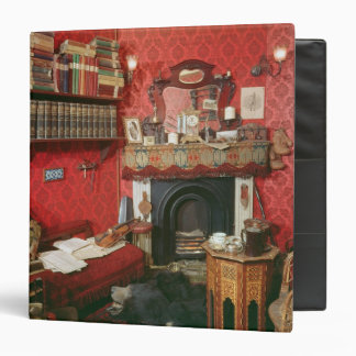 Reconstruction of Sherlock Holmes's Room Binders