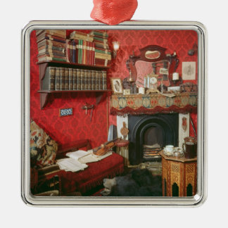 Reconstruction of Sherlock Holmes's Room Metal Ornament