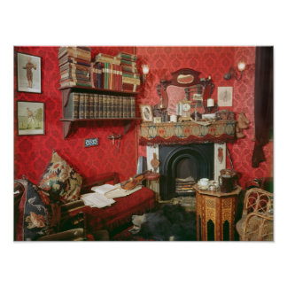 Reconstruction of Sherlock Holmes's Room Posters