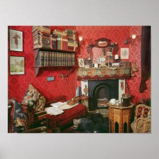 Reconstruction of Sherlock Holmes's Room Poster