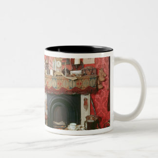 Reconstruction of Sherlock Holmes's Room Two-Tone Coffee Mug