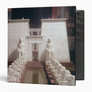 Reconstruction of the Great Temple of Amon, Binder