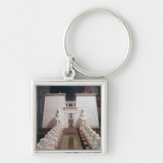 Reconstruction of the Great Temple of Amon Keychain