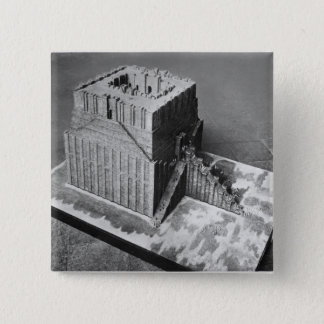 Reconstruction of the Tower of Babel Button