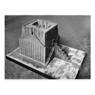 Reconstruction of the Tower of Babel Postcard