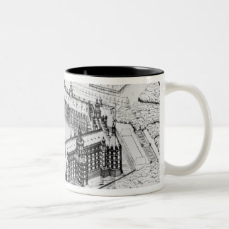 Reconstruction of Theleme Abbey Two-Tone Coffee Mug