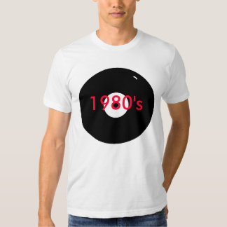 record 1980's tee shirt