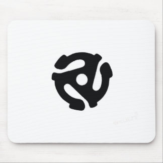 Record Adapter Mouse Pads