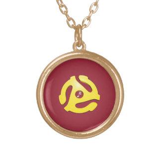 Record Adaptor pendant (customizable colors)