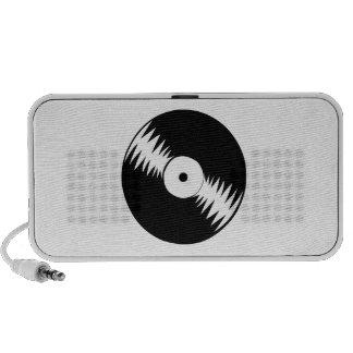 Record Album Laptop Speakers
