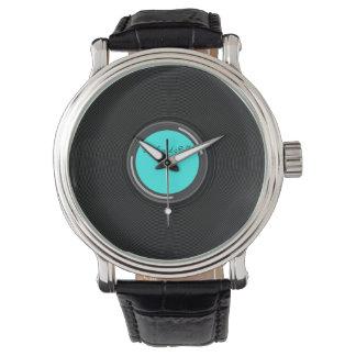 Record Album Wrist Watch