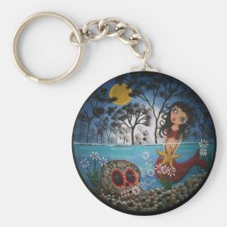 Record Art By Lori Everett Basic Round Button Keychain