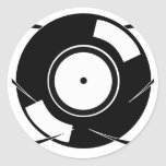 Record Atom Sticker
