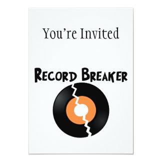 Record Breaker Card