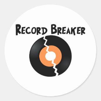 Record Breaker Sticker