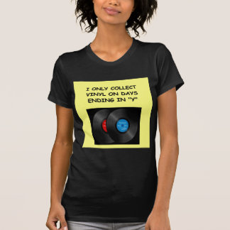 record collecting tee shirts