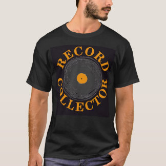 Record Collector (black) T-Shirt
