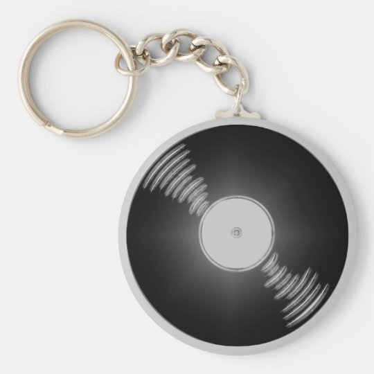 Record Keychain