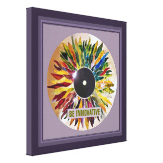 Record Leaves Innovative Photography Canvas Print