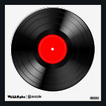 """Record_LP Wall Sticker<br><div class=""""desc"""">Now that vinyl is back,  this LP record decal is the perfect addition to any music lover&#39;s listening room,  recording studio or bar.</div>"""