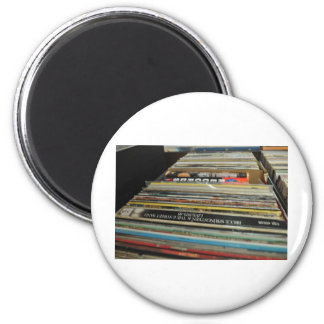 Record Mania 2 Inch Round Magnet