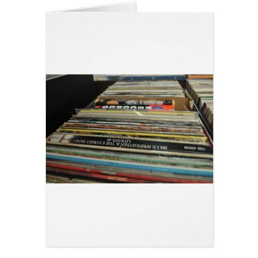 Record Mania Greeting Cards