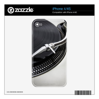 Record Needle Stylus Decals For The iPhone 4S