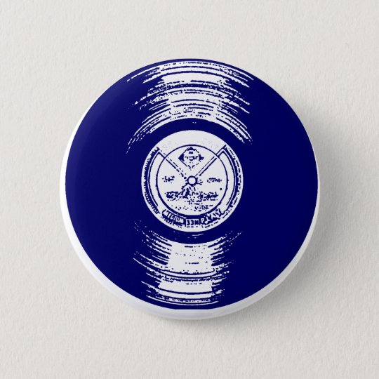 Record Pinback Button