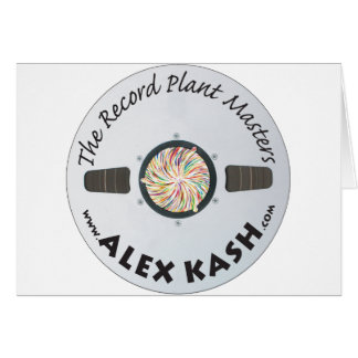 Record Plant Masters Card