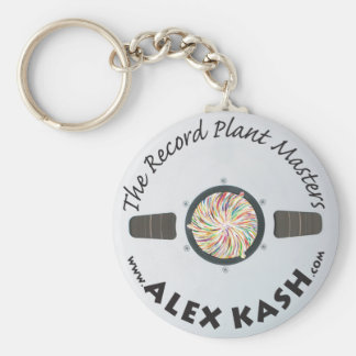Record Plant Masters Keychain