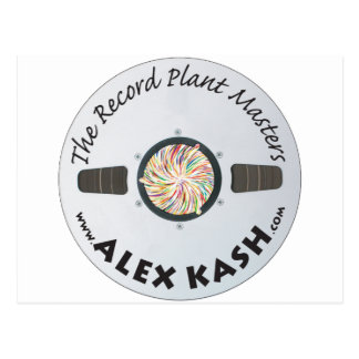 Record Plant Masters Postcard