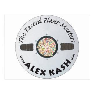 Record Plant Masters Postcard