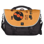 Record Player Laptop Commuter Bag
