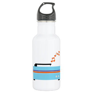 Record Player 18oz Water Bottle