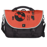 Record Player (red) Laptop Computer Bag
