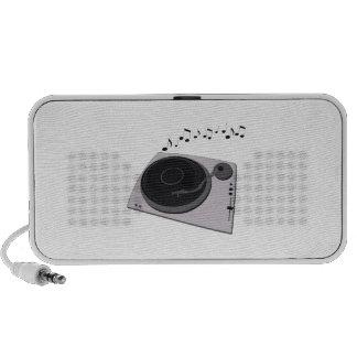 Record Player Mp3 Speaker