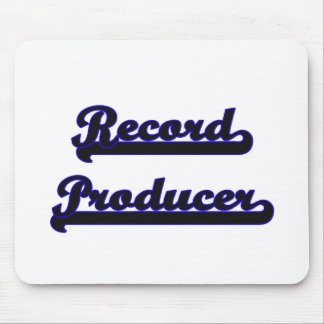 Record Producer Classic Job Design Mouse Pad