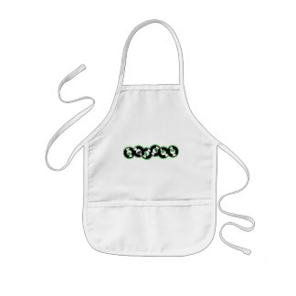 Record Row Green Kids' Apron