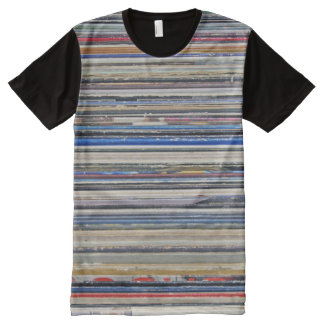 Record Sleeves Pattern All-Over-Print T-Shirt