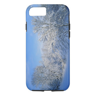 Record snow in Louisville, Kentucky. iPhone 7 Case