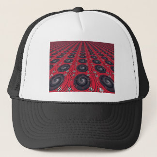 Record_Tiles resized.PNG Trucker Hat