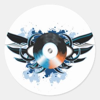Record Tribal Sticker