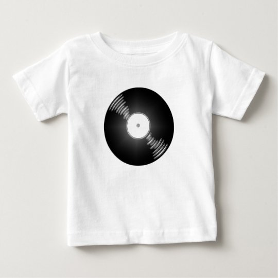 Record - You spin me right round baby Baby T-Shirt