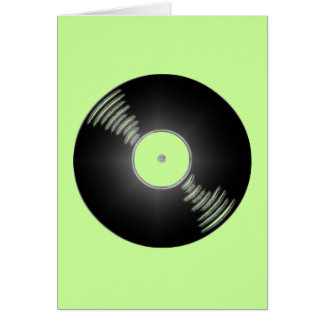 Record - You spin me right round baby Card